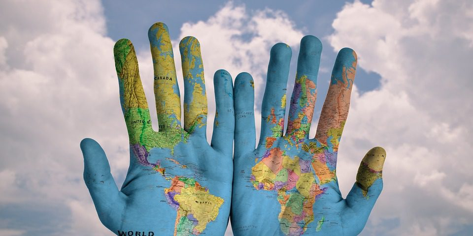 El mundo está en tus manos